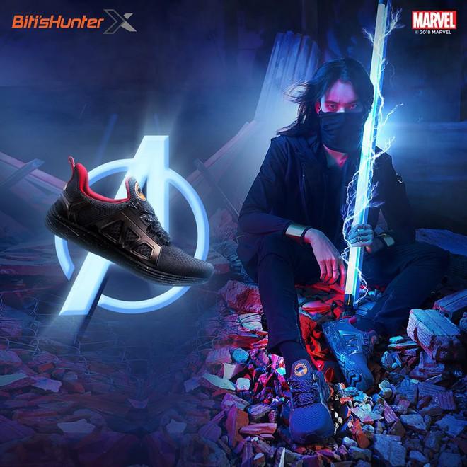 Bitis ra mắt ba mẫu giày siêu anh hùng HUNTER X MARVEL ngay dịp công chiếu Avengers: Infinity War - Ảnh 2.