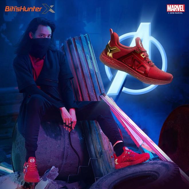 Bitis ra mắt ba mẫu giày siêu anh hùng HUNTER X MARVEL ngay dịp công chiếu Avengers: Infinity War - Ảnh 3.