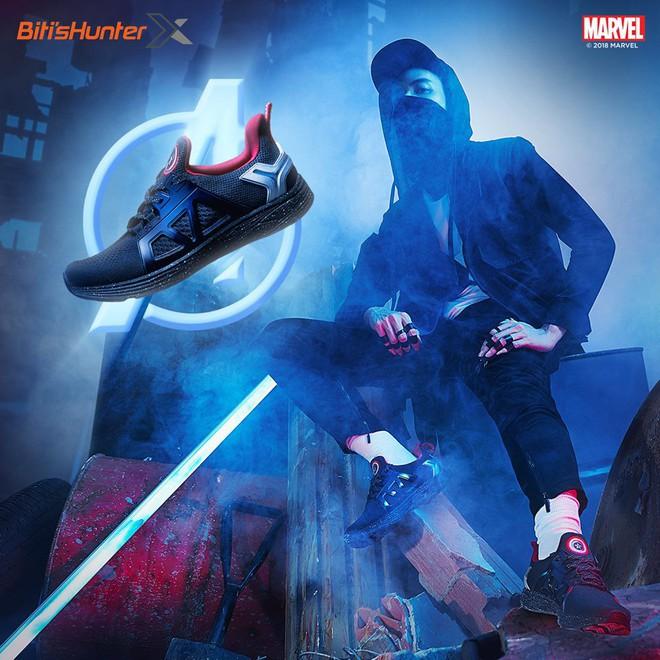 Bitis ra mắt ba mẫu giày siêu anh hùng HUNTER X MARVEL ngay dịp công chiếu Avengers: Infinity War - Ảnh 4.