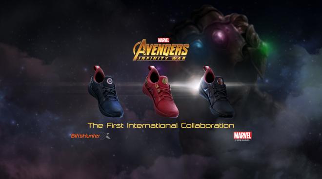 Bitis ra mắt ba mẫu giày siêu anh hùng HUNTER X MARVEL ngay dịp công chiếu Avengers: Infinity War - Ảnh 5.