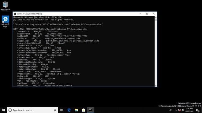 Microsoft đang phát triển Windows 10 Lean Edition dành cho các thiết bị có dung lượng ổ cứng hạn chế - Ảnh 4.