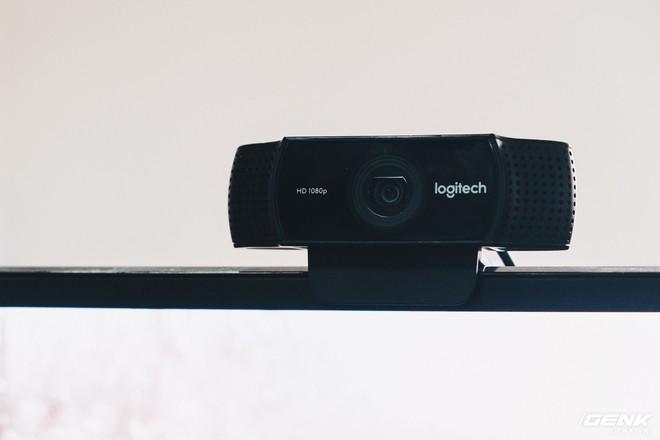 Logitech C922 Pro Stream: Webcam lý tưởng dành cho streamer chuyên nghiệp - Ảnh 1.