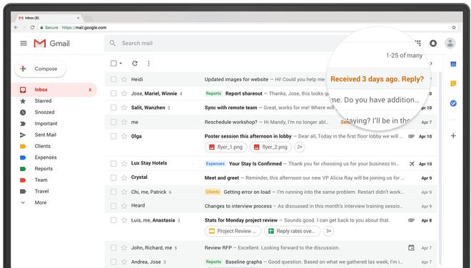 Google chính thức cho phép người dùng Gmail chuyển đổi sang giao diện mới! - Ảnh 1.