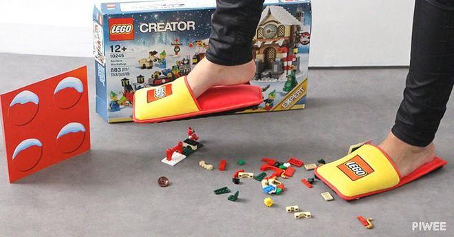 Đây là giải pháp chống lại những cú đau điếng người do vô tình giẫm phải đồ chơi Lego - Ảnh 1.