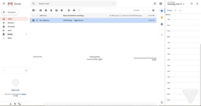 Gmail mới của Google là một đòn đánh hiểm vào vị trí dễ tổn thương nhất của Microsoft - Ảnh 1.