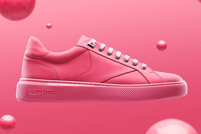 Amsterdam ra mắt mẫu sneakers với phần đế làm từ bã kẹo cao su tái chế - Ảnh 3.
