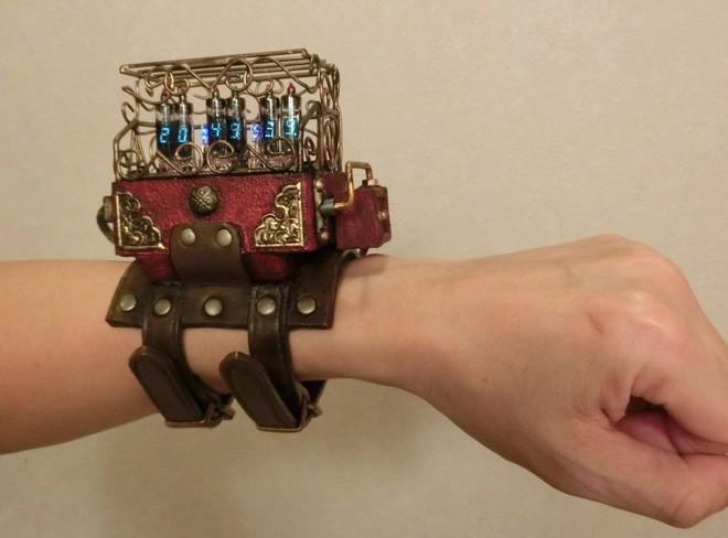 Thích thú với BST đồng hồ Steampunk tự chế của cô gái Nhật Bản - Ảnh 2.