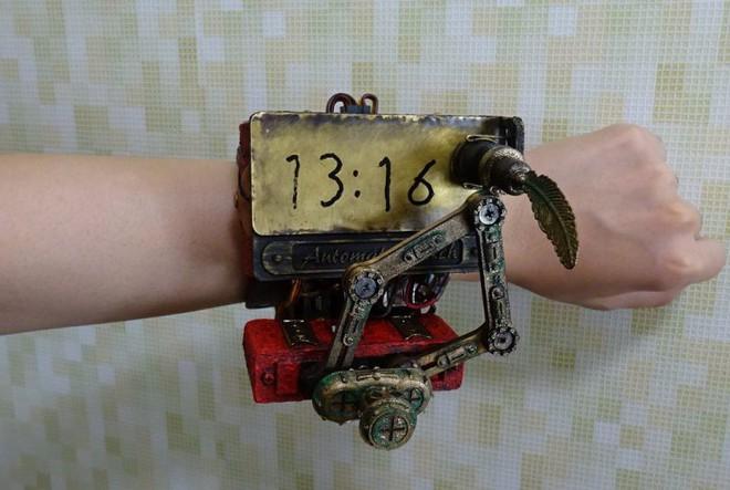 Thích thú với BST đồng hồ Steampunk tự chế của cô gái Nhật Bản - Ảnh 4.