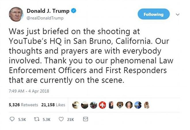 Ảnh: Hiện trường vụ nổ súng gây náo loạn trụ sở YouTube - Ảnh 13.