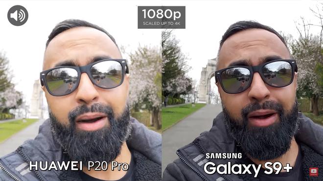 Màu da của P20 Pro được làm mịn hơn và có phần trắng hơn, trong khi đó S9+ vẫn giữ được màu sắc trung thực và chi tiết. Phần bokeh của P20 Pro cũng được làm mờ hơn so với Galaxy S9+. Xét về tổng thể thì cả 2 đều làm khá tốt vai trò của mình, không có quá nhiều sự khác biệt
