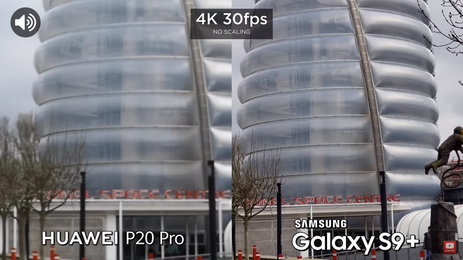 Thậm chí chất lượng video khi được phóng to thì Galaxy S9+ cũng tốt hơn so với P20 Pro, máy giữ được chi tiết và không xảy ra hiện tượng vỡ hay bệt