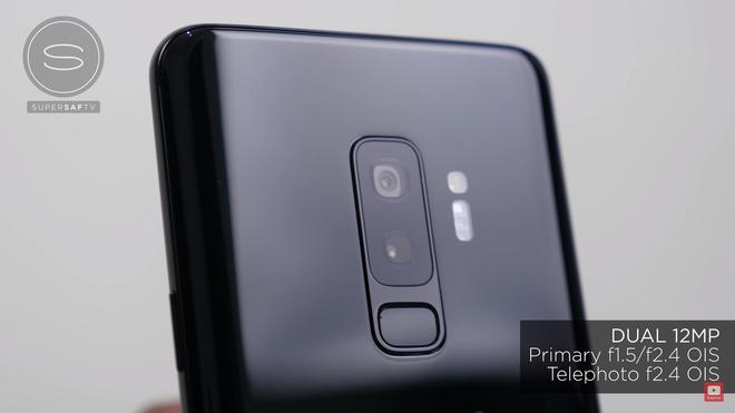 Thông số camera của Samsung Galaxy S9+