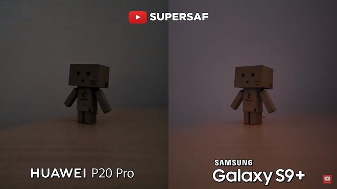 Với chế độ tự động trên cả 2 máy, S9+ làm tốt hơn rất nhiều so với P20 Pro, ảnh thu được nhiều sáng, các chi tiết giữ lại nhiều hơn nhờ khẩu độ f/1.5