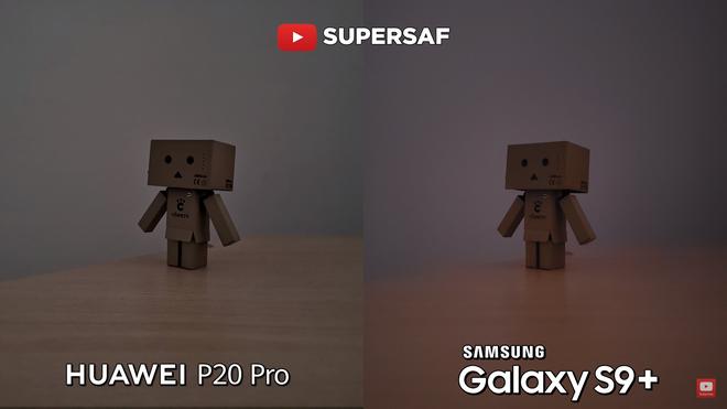 Khi bật chế độ chụp tối trên P20 Pro thì ảnh đã sáng hơn so với chế độ tự động