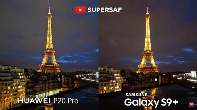 Và khi bật chế độ low-light trên P20 Pro thì ảnh còn cho chất lượng tốt hơn nữa