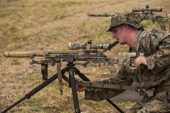 Sau hơn 40 năm thủy quân lục chiến Mỹ đã được thay súng trường bắn tỉa mới - Ảnh 1.