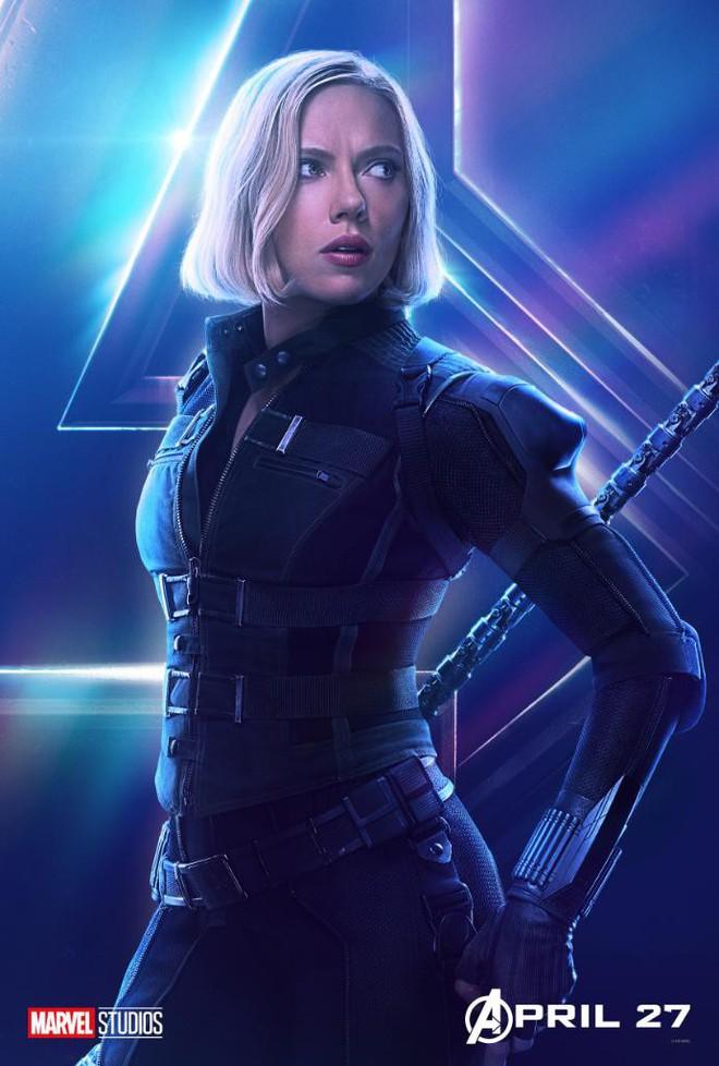 Marvel ra mắt loạt poster mới, khắc họa rõ nét chân dung những siêu anh hùng trong Avengers: Infinity War - Ảnh 2.