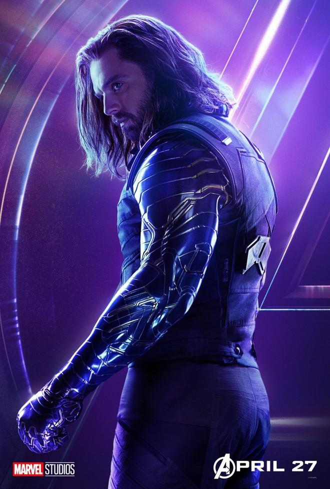 Marvel ra mắt loạt poster mới, khắc họa rõ nét chân dung những siêu anh hùng trong Avengers: Infinity War - Ảnh 5.
