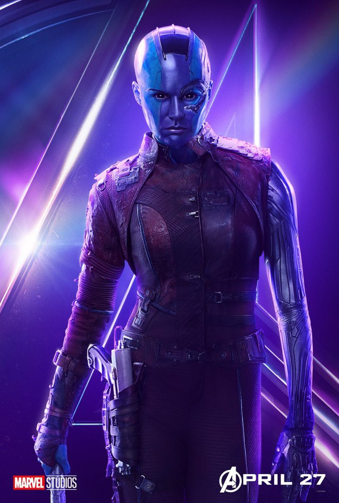 Marvel ra mắt loạt poster mới, khắc họa rõ nét chân dung những siêu anh hùng trong Avengers: Infinity War - Ảnh 6.