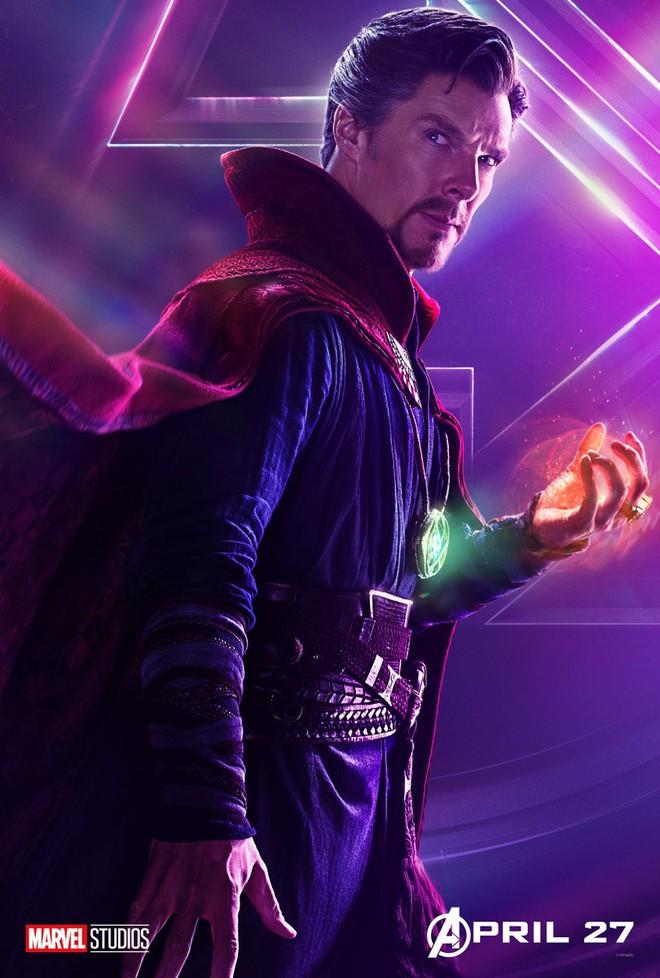 Marvel ra mắt loạt poster mới, khắc họa rõ nét chân dung những siêu anh hùng trong Avengers: Infinity War - Ảnh 8.