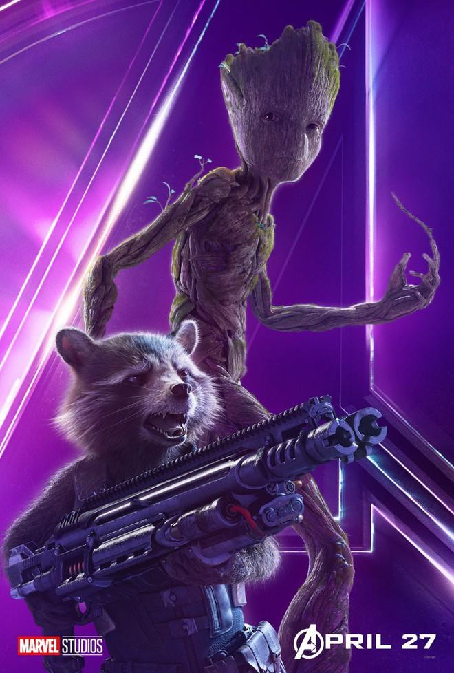 Marvel ra mắt loạt poster mới, khắc họa rõ nét chân dung những siêu anh hùng trong Avengers: Infinity War - Ảnh 14.
