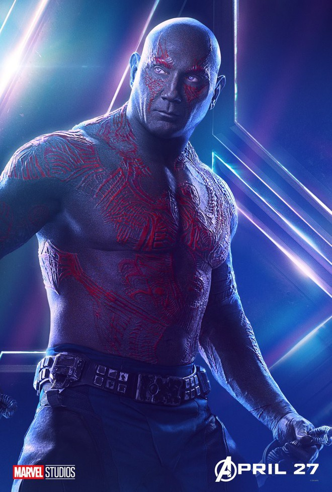 Marvel ra mắt loạt poster mới, khắc họa rõ nét chân dung những siêu anh hùng trong Avengers: Infinity War - Ảnh 17.