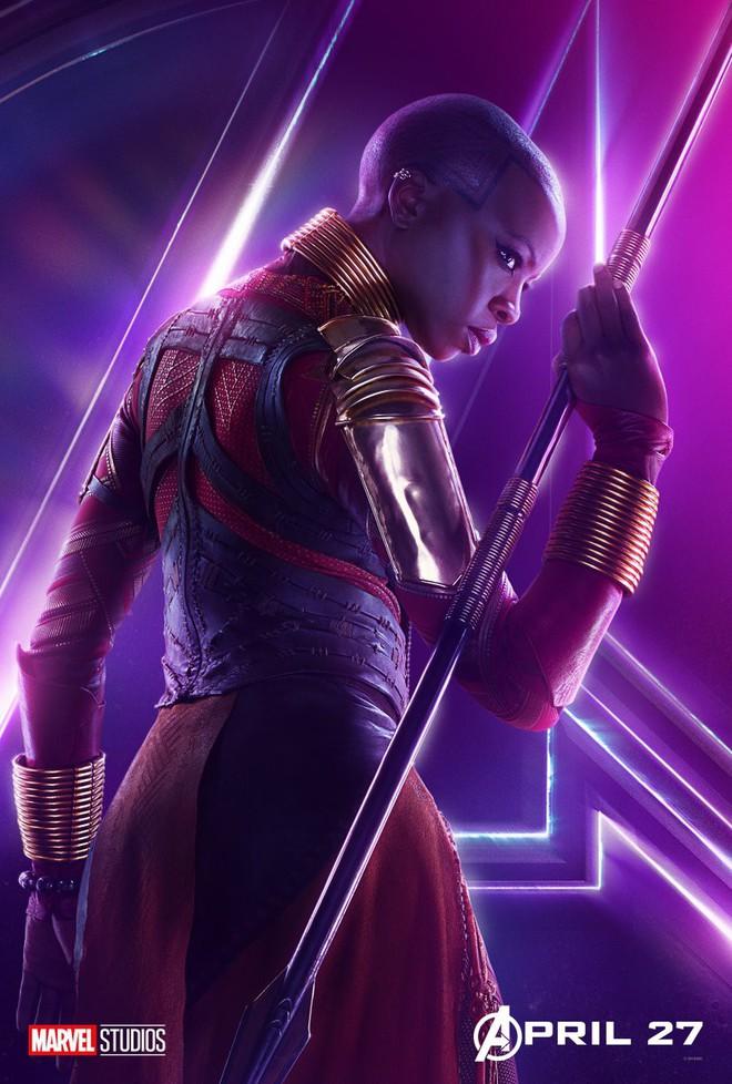 Marvel ra mắt loạt poster mới, khắc họa rõ nét chân dung những siêu anh hùng trong Avengers: Infinity War - Ảnh 20.