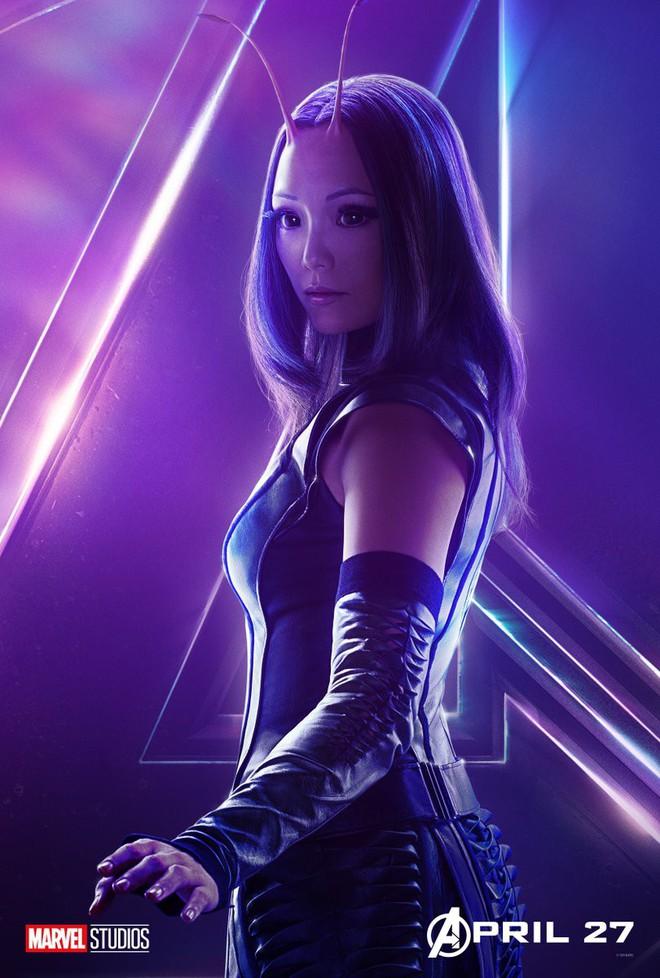 Marvel ra mắt loạt poster mới, khắc họa rõ nét chân dung những siêu anh hùng trong Avengers: Infinity War - Ảnh 23.