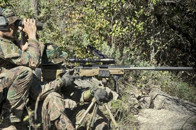 Sau hơn 40 năm thủy quân lục chiến Mỹ đã được thay súng trường bắn tỉa mới - Ảnh 3.