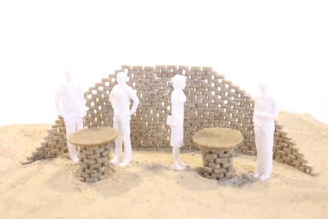 Vật liệu mới được làm từ cát sa mạc, cứng như bê tông nhưng phát thải carbon thấp hơn rất nhiều - Ảnh 6.
