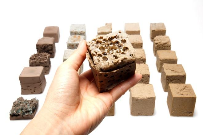 Vật liệu mới được làm từ cát sa mạc, cứng như bê tông nhưng phát thải carbon thấp hơn rất nhiều - Ảnh 5.