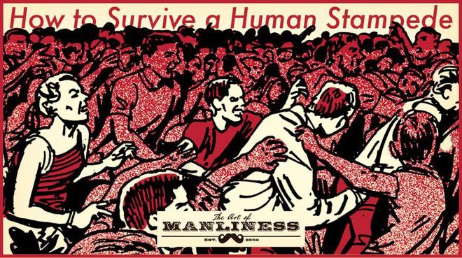 Làm thế nào để sống sót trong đám đông hỗn loạn, chỉ trực dẫm đạp lên nhau để thoát thân? - Ảnh 1.