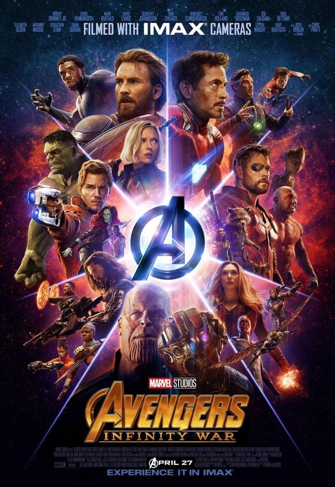 Poster mới toanh của Avengers: Infinity War cực kỳ đẹp mắt, tuy nhiên hãy nhìn kỹ hơn một chút