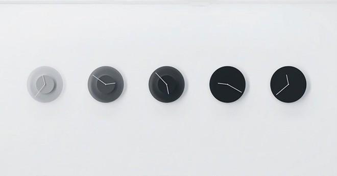 Phong cách sống tối giản lên ngôi, bạn có muốn sở hữu 1 chiếc đồng hồ đổi màu theo thời gian vô cùng thỏa mãn thị giác này không? - Ảnh 1.