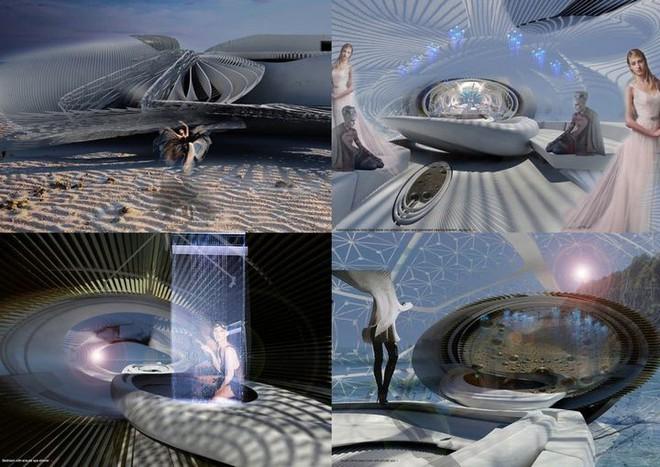 Ngắm ý tưởng khách sạn có thể bồng bềnh trên những con sóng và dùng điện từ thủy triều - Ảnh 1.