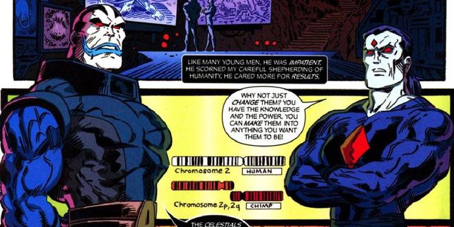 Apocalypse và Mr Sinister.