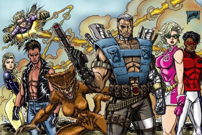 Cable xuất hiện lần đầu dưới hình dạng người lớn trong tập truyện The New Mutants xuất bản năm 1990. Summers trở về quá khứ, tập hợp và huấn luyện một nhóm dị nhân trẻ tuổi với mục đích chính là cản trở sự gia tăng quyền lực của Apocalypse.