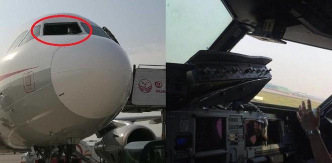 Kính chắn gió bị xé toạc trên độ cao 9700m khiến máy bay của Sichuan Airlines phải hạ cánh khẩn cấp - Ảnh 3.
