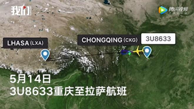 Kính chắn gió bị xé toạc trên độ cao 9700m khiến máy bay của Sichuan Airlines phải hạ cánh khẩn cấp - Ảnh 2.