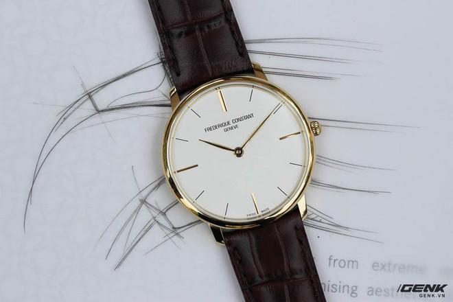 Frederique Constant Slimline Quartz – Chiếc Dress watch tuyệt vời dành cho dân công sở mới đi làm - Ảnh 6.