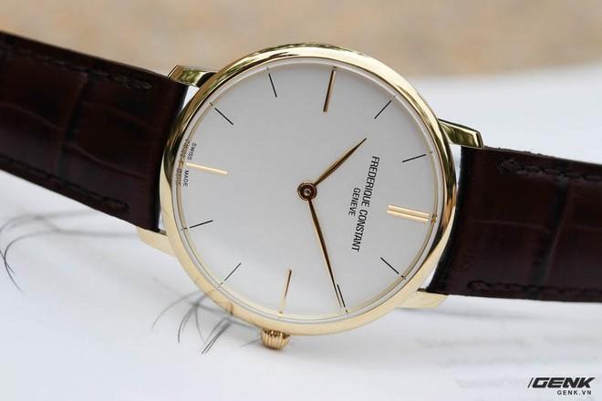 Frederique Constant Slimline Quartz – Chiếc Dress watch tuyệt vời dành cho dân công sở mới đi làm - Ảnh 7.