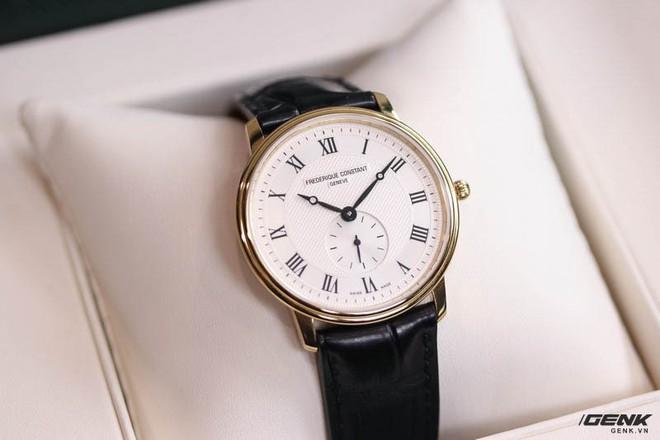 Frederique Constant Slimline Quartz – Chiếc Dress watch tuyệt vời dành cho dân công sở mới đi làm - Ảnh 1.