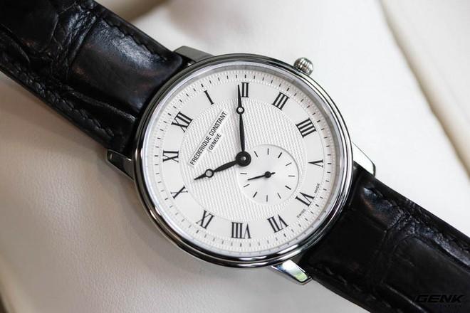 Frederique Constant Slimline Quartz – Chiếc Dress watch tuyệt vời dành cho dân công sở mới đi làm - Ảnh 5.