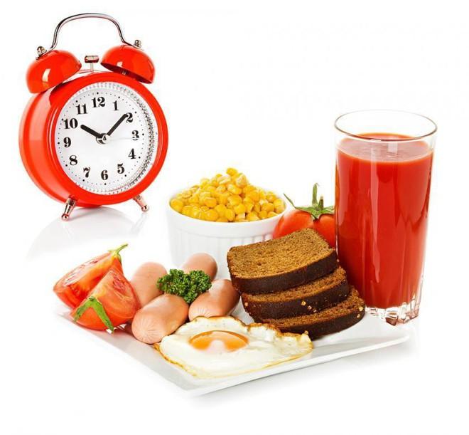 Khoảng thời gian tối ưu giữa các bữa ăn là từ 3-5 tiếng đồng hồ