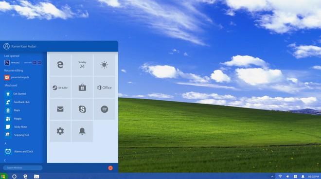 Choáng ngợp trước vẻ đẹp của concept Windows XP với ngôn ngữ thiết kế Fluent Design - Ảnh 2.