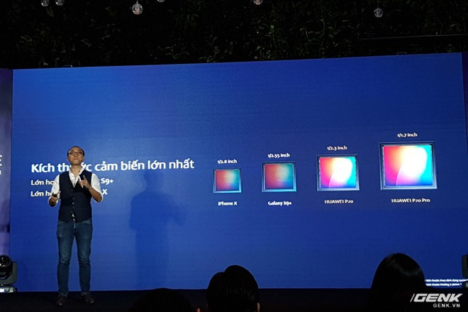 Huawei giới thiệu flagship P20 Pro tại Việt Nam: thiết kế đẹp, màn hình tai thỏ, trang bị 3 camera cho trải nghiệm chụp ảnh chuyên nghiệp, lên kệ từ 26/5 - Ảnh 9.
