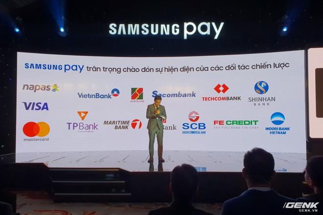 Samsung nâng cấp thêm tính năng mới cho ứng dụng thanh toán một chạm Pay: hỗ trợ thanh toán bằng Gear S3, rút tiền được tại máy ATM, đáp ứng 75% nhu cầu sử dụng thẻ của người dùng Việt - Ảnh 1.