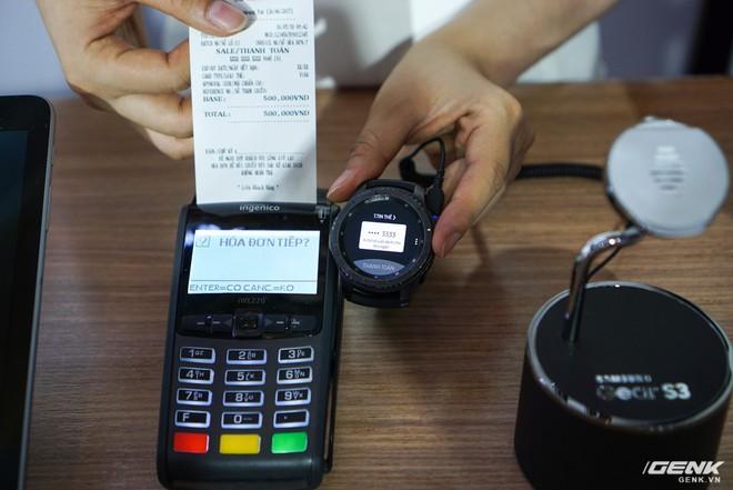 Samsung nâng cấp thêm tính năng mới cho ứng dụng thanh toán một chạm Pay: hỗ trợ thanh toán bằng Gear S3, rút tiền được tại máy ATM, đáp ứng 75% nhu cầu sử dụng thẻ của người dùng Việt - Ảnh 9.