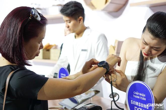 Samsung nâng cấp thêm tính năng mới cho ứng dụng thanh toán một chạm Pay: hỗ trợ thanh toán bằng Gear S3, rút tiền được tại máy ATM, đáp ứng 75% nhu cầu sử dụng thẻ của người dùng Việt - Ảnh 6.