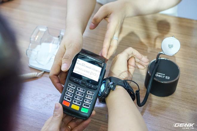 Samsung nâng cấp thêm tính năng mới cho ứng dụng thanh toán một chạm Pay: hỗ trợ thanh toán bằng Gear S3, rút tiền được tại máy ATM, đáp ứng 75% nhu cầu sử dụng thẻ của người dùng Việt - Ảnh 7.